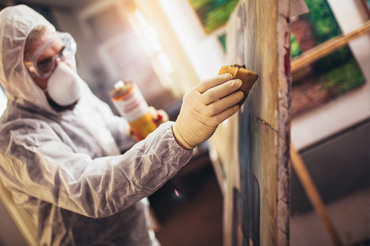 Painting cleaning